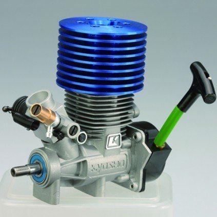 Bau und steuere den Hummer H1 - Motor: Kyoshos mächtiger GX21