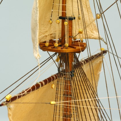 Bauen Sie die San Felipe - Vollständige Segel und Takelage