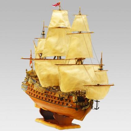 Bauen Sie die San Felipe - Größe des Modells: 63 x 32 x 83 cm