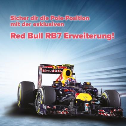 Sichere Dir die Pole mit der Red Bull RB7 Erweiterung!