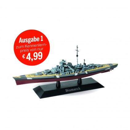 Bismarck - Maßstab 1:1250