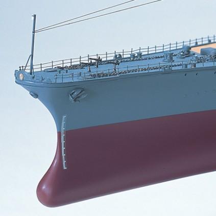 Bauen Sie die Yamato – Bugansicht