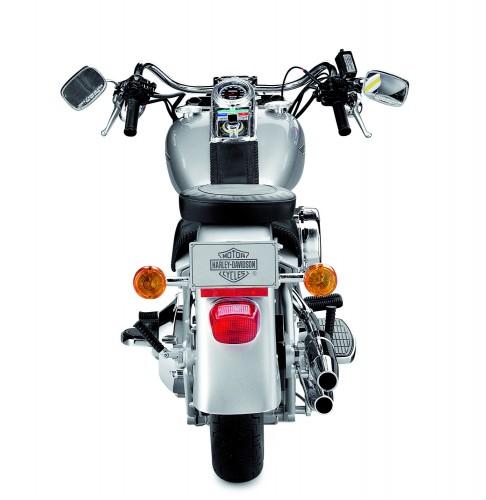 Harley-Davidson Fat Boy - Die Rückansicht