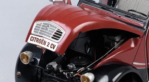 Citroën 2 CV Charleston - Wählen Sie Ihr Wunschkennzeichen mit den Buchstaben und Nummernstickern, die Teil der Sammlung sind.
