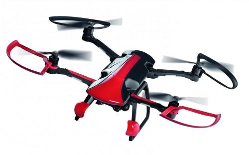 Bau und flieg die Sky Rider Drohne - Begeisterndes Design aus dem Hause Pininfarina