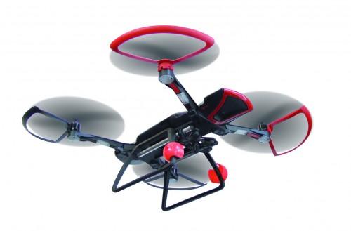 Bau und flieg die Sky Rider Drohne - Maximale Neigung: 45° mit Antikippfunktion