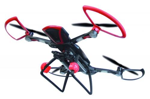 Bau und flieg die Sky Rider Drohne - Höchstgeschwindigkeit (bei der Fortbewegung): 20 m pro Sekunde