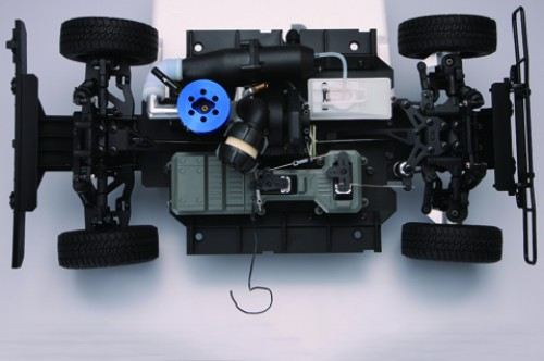Bau und steuere den Hummer H1 - Der Allradantrieb sorgt für optimale Kraftentfaltung auf jedem Untergrund.