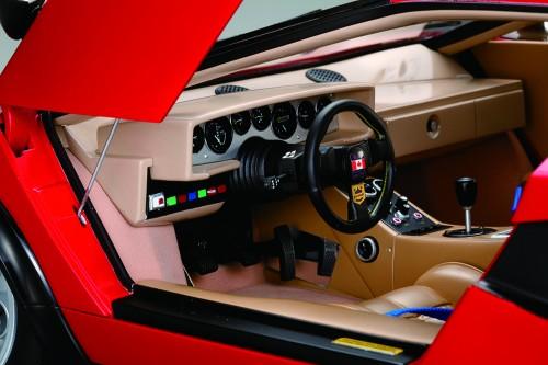 Der Lamborghini Countach LP 500S - Die Gestaltung des Interieurs