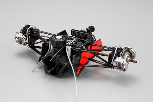 Bauen Sie den McLaren Honda MP4/4 - Hochwertige Bauteile von Kyosho