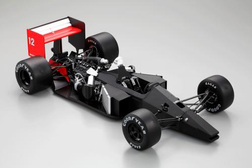 Bauen Sie den McLaren Honda MP4/4 - Materialien: ABS, HIPS und Metallgussteile