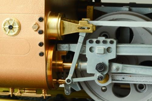 Bauen Sie die Dampflokomotive D51 -  Druckguss-, Dreh- und Blechkomponenten