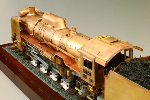 Bauen Sie die Dampflokomotive D51 - Maßstab: 1:24