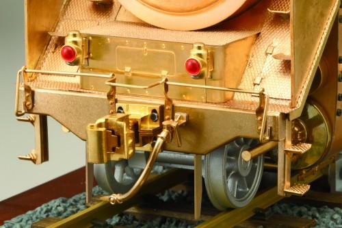 Bauen Sie die Dampflokomotive D51 - Eine detailgetreue und authentische Reproduktion des Originals.