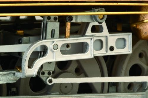 Bauen Sie die Dampflokomotive D51 - Faszinierender Grad an Detailliertheit