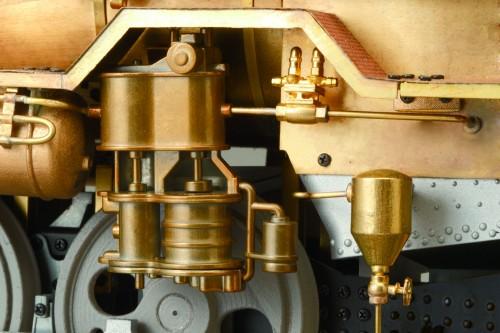 Bauen Sie die Dampflokomotive D51 - Aus Messing- und Weißmetallkomponenten gefertigt