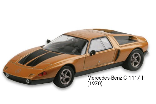 Mercedes-Benz C 111/II (1970)