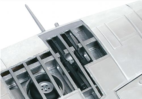 Bauen Sie die Supermarine Spitfire - Faszinierender Grad an Detailliertheit
