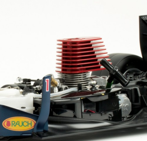 Red Bull Racing RB7 - Motor: Kyosho GX21