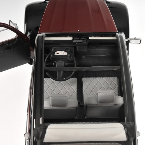 Citroën 2 CV Charleston  - Sitzbezüge in original Hahnentrittmuster