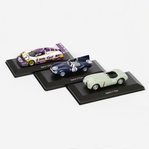 Jaguar-Rennwagenserie von Le Mans im Maßstab 1:43