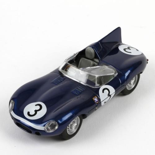 Der aerodynamische Jaguar D-Type drückte dem 24-Stunden-Rennen von Le Mans seinen Stempel auf.