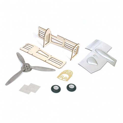 Bauen Sie die Supermarine Spitfire - Sie erhalten neben sämtlichen Bauteilen eine klar strukturierte Schritt-für-Schritt-Bauanleitung für den Zusammenbau dieses bemerkenswerten Modells.