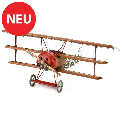 Fokker Dr.I Roter Baron   Maßstab 1:16   Komplett-Set