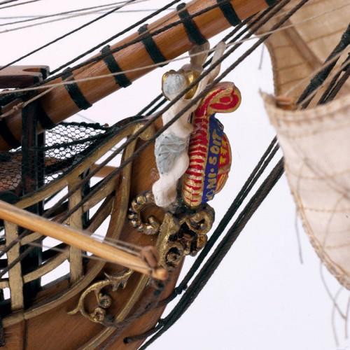 Admiral Nelsons HMS Victory - Faszinierender Grad an Detailliertheit