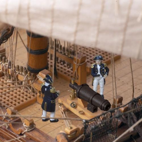Admiral Nelsons HMS Victory - Hochwertige Figuren aus solidem Metall