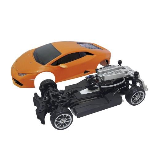Baue und fahre den Lamborghini Huracán - Länge: 390 mm   Breite: 200 mm