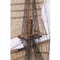 Admiral Nelsons HMS Victory - Jedes Tau und jeder Holm  sind akkurat wiedergegeben.