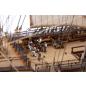 Admiral Nelsons HMS Victory - Inklusive lebensechter Figuren von Nelson und seiner Crew im Maßstab des Modells.