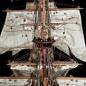 Bauen Sie die Sovereign of the Seas - Sämtliche Segel und Flaggen sind bereits zugeschnitten und genäht.