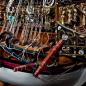 Bauen Sie die Sovereign of the Seas - Anker und Bootsdavits sind originalgetreu dargestellt.