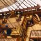 Bauen Sie die San Felipe - In Spantbauweise mit doppelter Beplankung gefertigt.