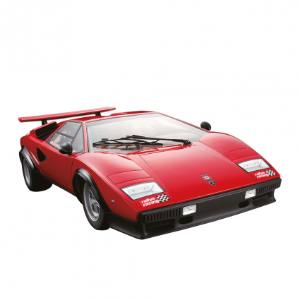 Build the Lamborghini Countach LP 500S - 1:8 Scale Model