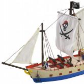 Nave dei Pirati | Modelli per ragazzi | Kit completo