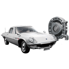 Costruisci il modellino auto della Ford gt40 in scala 1:8 | ModelSpace