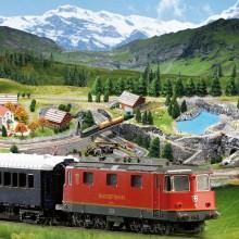 Ferrovia del Gottardo | Scala 1:160