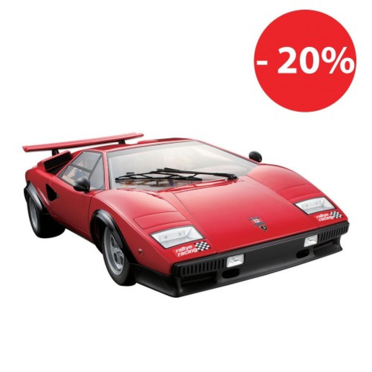 Costruisci La Lamborghini Countach Lp500s Modello Di