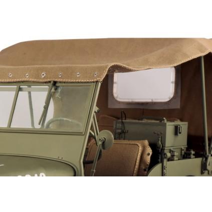 Costruisci il modellino della Jeep Willys | Scala 1:8 | ModelSpace