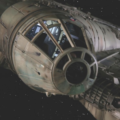 Costruisci il Millennium Falcon - Kit completo