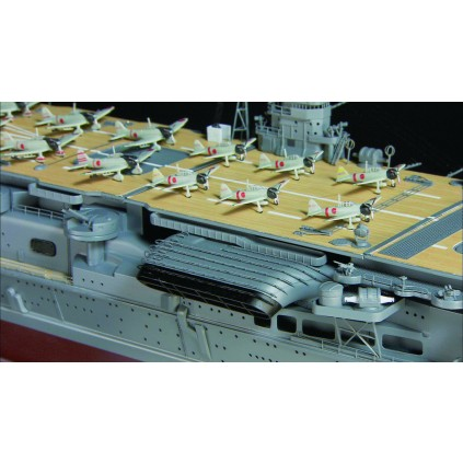 Build IJN Akagi -   features 21 diecast scale-model aircraft