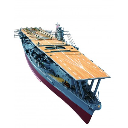 Build IJN Akagi 1:250 scale model