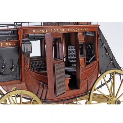 Diligenza Stage Coach 1848 | Scala 1:10 | Kit Completo