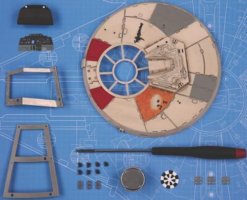 Costruisci il Millennium Falcon   Scala 1:1