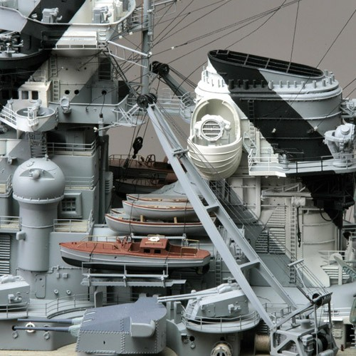 Costruisci la Bismarck   Scala 1:200