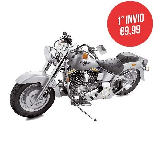 Costruisci Harley Davidson Fat Boy | Scala 1:4
