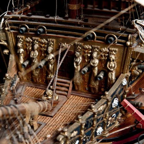 Costruisci il Sovereign of the Seas | Scala 1:84